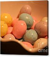 Easter Candy Malted Milk Balls II Canvas Print