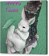Easter Card 1 Canvas Print