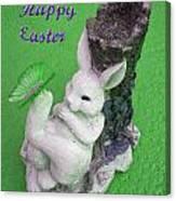 Easter Card 2 Canvas Print