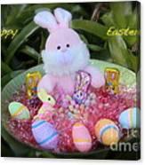 Easter Card Canvas Print