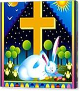 Easter Card Canvas Print