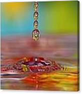 Easter Drop Water  Canvas Print