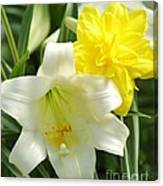 Easter Flowers Canvas Print