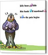 Easter Haiku Canvas Print