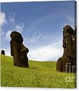 Easter Island 10 Canvas Print