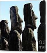 Easter Island 11 Canvas Print