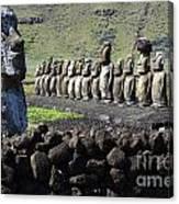 Easter Island 4 Canvas Print