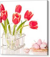 Easter Tulips Canvas Print