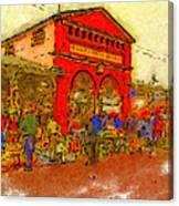 Eastern Market Canvas Print