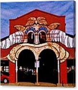 Eastern Market Painted Barn Canvas Print
