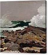 Eastern Point 1900 Canvas Print