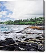 Eastern Shore Of Maui Canvas Print