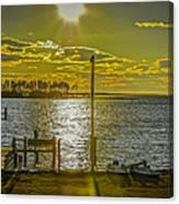 Eastern Shore Sunset Canvas Print