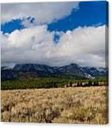 Eastern Sierras 24 Canvas Print