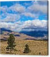 Eastern Sierras 28 Pano Canvas Print