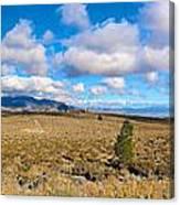 Eastern Sierras 29 Pano Canvas Print