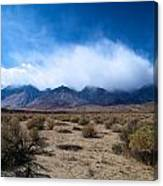 Eastern Sierras 3 Canvas Print