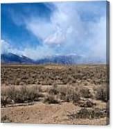Eastern Sierras 8 Canvas Print