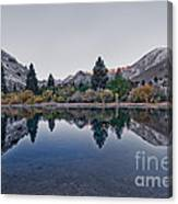 Eastern Sierras Reflection Canvas Print