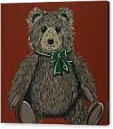 Easton's Teddy Canvas Print