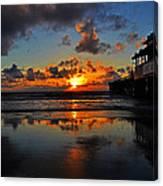 Eat At Joes - Daytona - Florida Canvas Print
