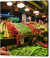 Eat Your Fruits And Vegetables Canvas Print
