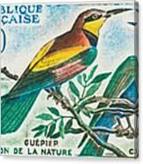 Eater Conservation Camargue Canvas Print