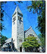 Eaton Chapel Canvas Print