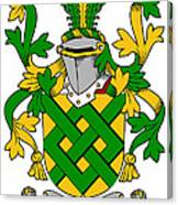 Eaton Coat Of Arms Irish Canvas Print