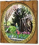 Eau De Fleurs Canvas Print