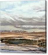Ebb Tide-the Gurnet Canvas Print
