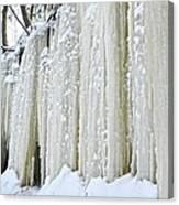 Eben Ice Caves Canvas Print