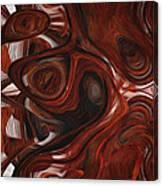 Ebony Flow Canvas Print