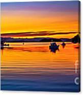 Echo Bay Sunset Canvas Print