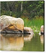 Echo Lake Reflection Canvas Print