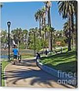 Echo Park Los Angeles Canvas Print