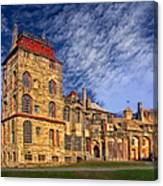 Eclectic Castle Canvas Print
