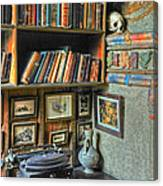 Eclectic Office Canvas Print