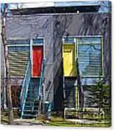 Eco-home Canvas Print