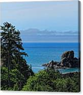 Ecola State Park Overlook  Canvas Print