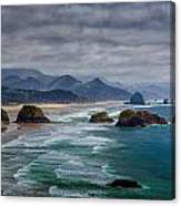 Ecola Viewpoint Canvas Print