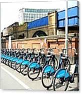 Ecological Transport Canvas Print