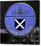 Ecurie Ecosse Badge Canvas Print
