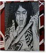 Eddie Canvas Print