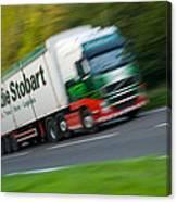 Eddie Stobart Lorry Canvas Print