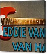 Eddie Van Halen Guitar Canvas Print