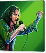 Eddie Vedder Of Pearl Jam Canvas Print