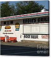 Eddie's Grill Canvas Print