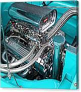 Edelbrock In A Chevy 3100 Hotrod Canvas Print