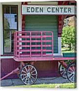 Eden Center Depot 1943 Canvas Print